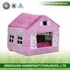 QQ04 fashion dog house plush & dog house fabric & dog house indoor