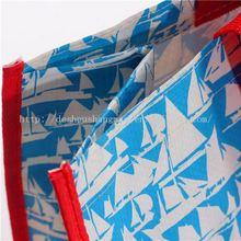 handle pp woven shopping laminated cartoon pp non woven bags