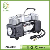 Portable 12v air compressor car tyre inflator