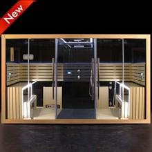 SR160 New Design Infrared Steam Sauna Shower Combination