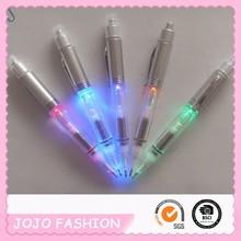 led light promotional pen with flashlight