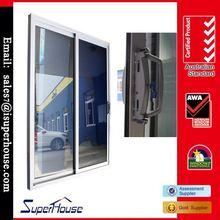China factory thermal break tempered double glazed bedroom wardrobe design in sliding door
