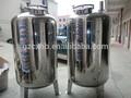 Pura/mineral/raw água tanque de aço inoxidável