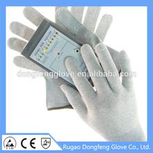 2015 CE EN388 breathable Carbon Fiber anti-static gloves fashion gloves for mobile