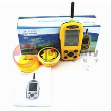 Colorful Wireless Portable Fish Finder Sonar Fishfinder Alarm 120ft Depth Range