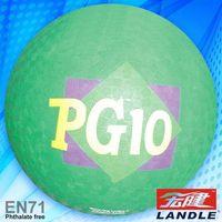 rubber ball factory 2014 plastic christmas ball