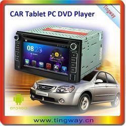 7 inch Multi-media Touch Screen Android dvd car for kia rio 2014 NEW DESIGN!