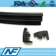 rectangular epdm rubber seal for roller door