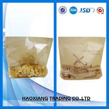 hot sales kraft paper bag packaging for baked goods