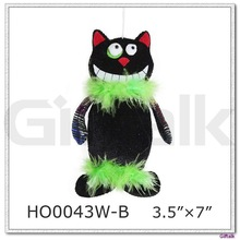 hot selling black cat halloween decoration