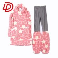 2015 fashion hot selling thicken coral fleece pajamas for women winter beautiful women sleepwear whole adult pajamas (S141029)