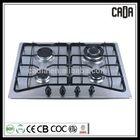 Super quality new sliver 4 burner gas cooker with oven