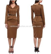 Wholesale New Designer Formal Dresses For Office 2012