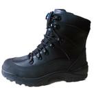 2014 New genuine Leather black winter waterproof military boots men desert boots