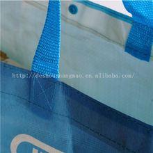handle pp woven shopping laminated 2014 cartoon pp non woven bag