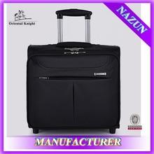 business style black 16 inch nylon luggage set