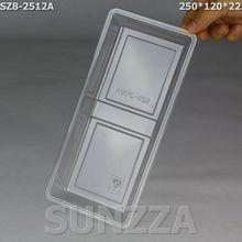 SZ8-2512A plastic PET food compartment tray