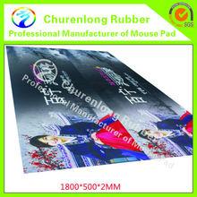 Big advertising floor mat natural rubber anti-slip floor mat