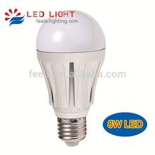 270 degree aluminum 8 watt 10W 12W smd e27 led edison bulb