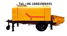 concrete transfer pumping machine hydraulic power diesel motor China supplier import components