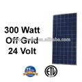 300W Poli paneles solares, fabricante de paneles solares, 24V