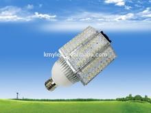 100 watt led fan Cooled E40 Cob/Corn light driver 2 years warranty led street light