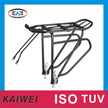 strong hot sale rear luggage carrier produced in ningbo kaiwei bicycle factory 638-01#