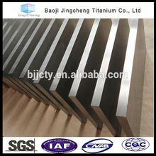 industrial use titanium plate platinum coated