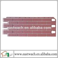 Fashional designed faux brick siding