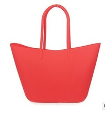 Factory sales rubber bag silicone tote bag