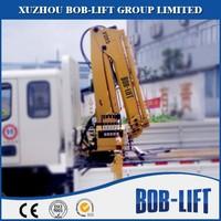 Trucks with mini crane 1ton for sale made in China SQ1ZA2