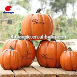 Craft Pumpkins, Resin Pumpking, Fake Pumpking Food