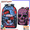 BBP302 Cool skull pattern fashion travel backpacks,korean style backpack sports with laptop bag