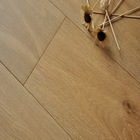 natural color oak parquet smoked wood flooring