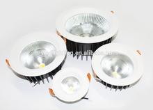 High luminous efficiency led downlight 40w , cob 86V TUV SAA ROHS certification