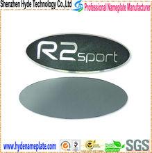 Metal Material Custom logo plate aluminium signs