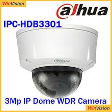 WDR ip camera dahua video sureillance software with poe IPC-HDB3301