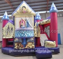 Personaggio dei cartoni animati gonfiabile Cenerentola gonfiabile combo, castello gonfiabile, partito moonwalk, diapositive castello, per vacanze/vendita