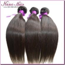 Factory Price 6A grade straight 100% Virgin hair brazilian hair extensions london