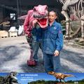 Mi Dino - jurásico parque de los dinosaurios mecánicos traje para adultos