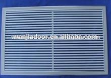 wanjia cheap factory price metal window louver shutters