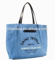 Hot sales women tote bag/lady tote bag/girls tote bag