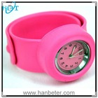 2014 hot sale unisex vogue silicone slap watch quartz watch advance