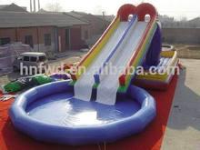 Fun-World inflatable slip and slide pool