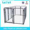 hot selling welded wire mesh silver double dog kennel