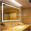 Novo estilo 2014 ul/cul espelho do banheiro luz luminárias