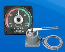 Rudder angle indicator complete system voltage signal transmission type