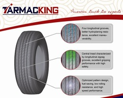 New Radial Tyres European and American Standard Truck tire 11R22.5 TarmacKing Brand