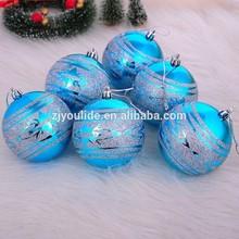 Sticker Christmas Ball /Christmas Ball with CMYK Print