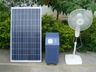 100w solar system for home appliances fans mobile air conditior